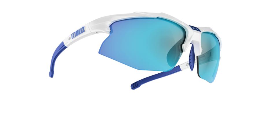 Bliz Active Hybrid SF Wiht/ white blue multi white blue mkt1WbDL7